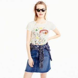 J. Crew California Destination Art T-Shirt